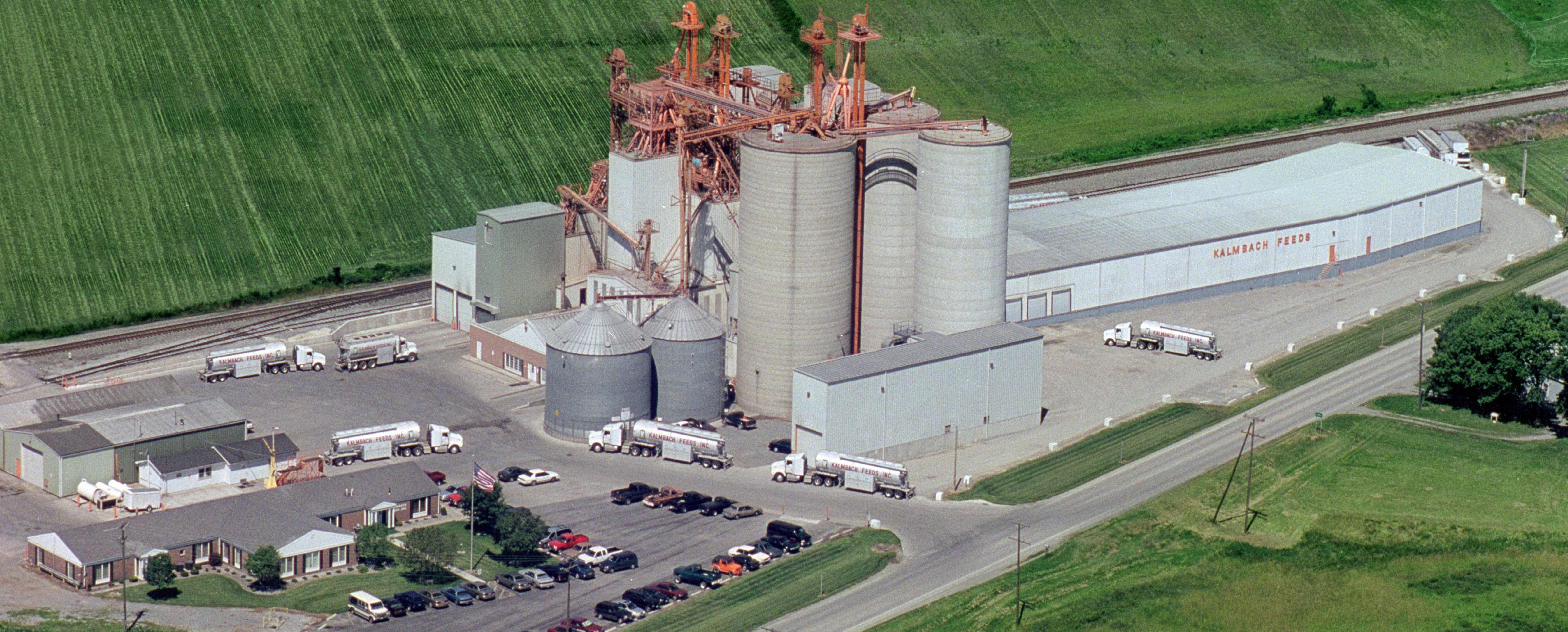 Kalmbach Feeds mill in Upper Sandusky, Ohio